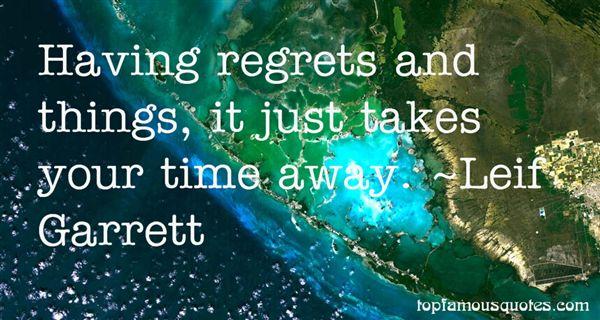 Leif Garrett Quotes