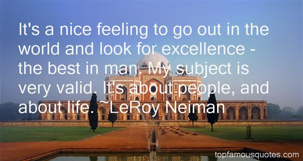 LeRoy Neiman Quotes