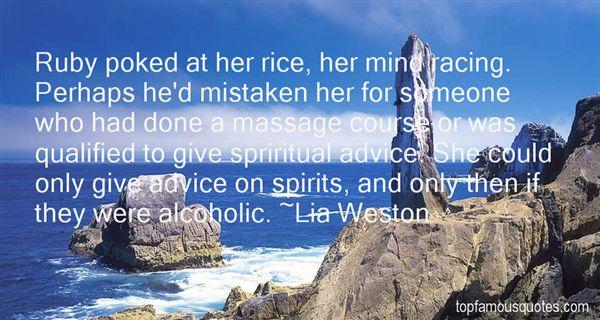 Lia Weston Quotes