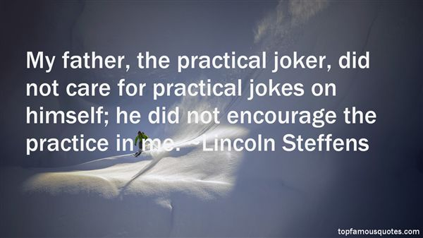 Lincoln Steffens Quotes