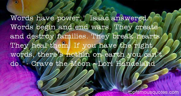 Lori Handeland Quotes