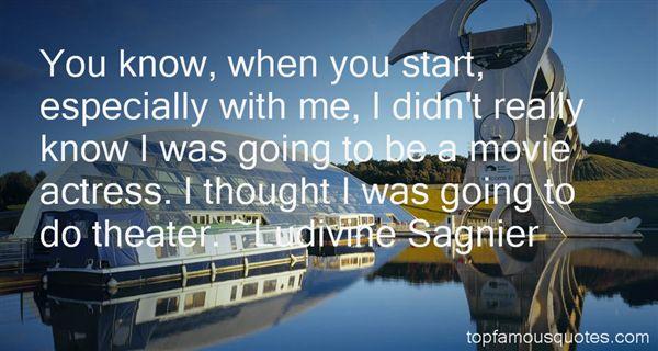 Ludivine Sagnier Quotes
