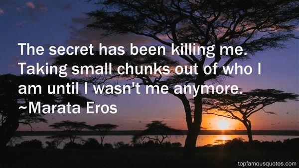 Marata Eros Quotes