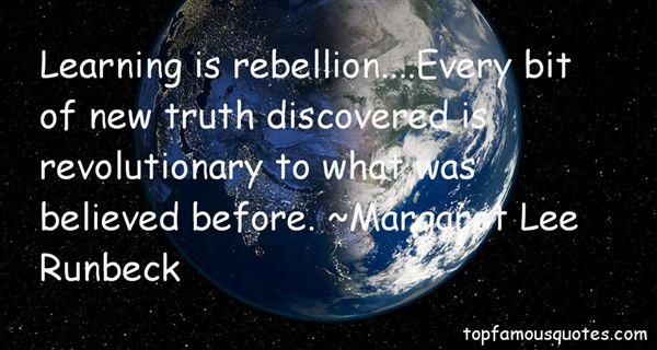 Margaret Lee Runbeck Quotes