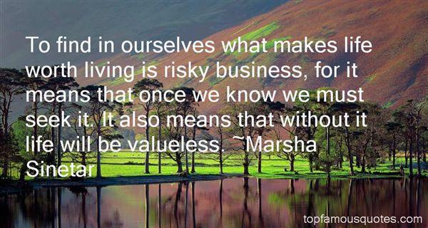 Marsha Sinetar Quotes