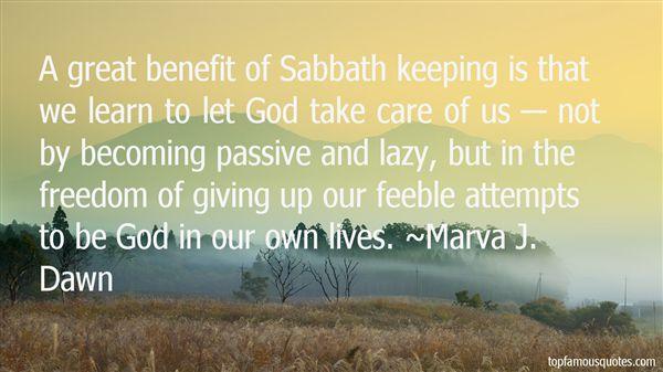 Marva J. Dawn Quotes
