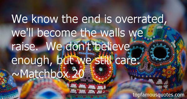 Matchbox 20 Quotes