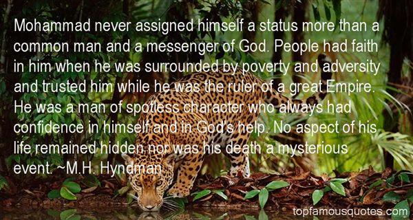 M.H. Hyndman Quotes
