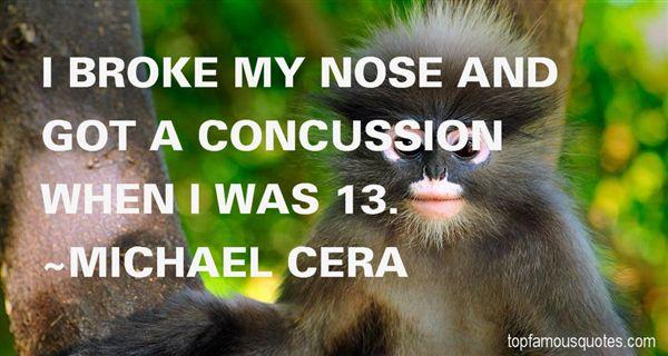Michael Cera Quotes