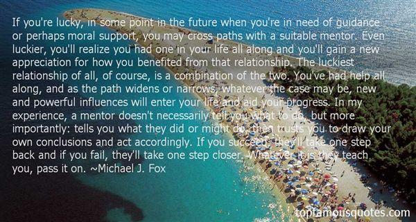 Michael J. Fox Quotes
