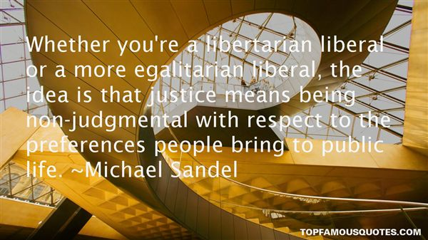 Michael Sandel Quotes
