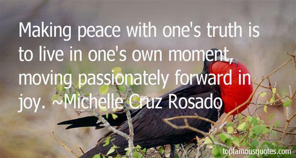 Michelle Cruz Rosado Quotes