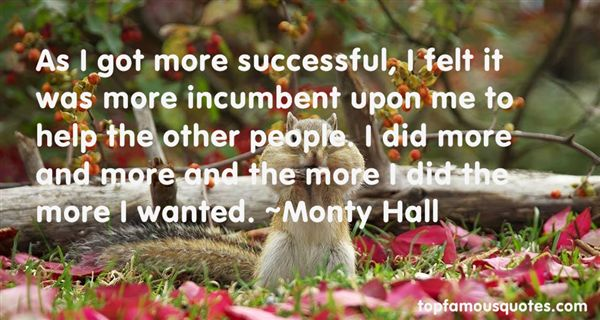 Monty Hall Quotes