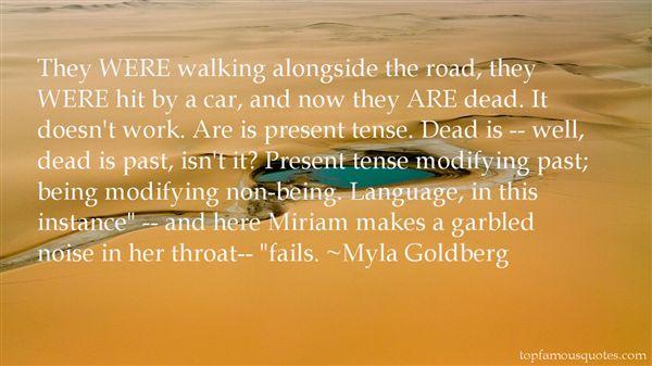 Myla Goldberg Quotes