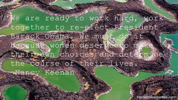 Nancy Keenan Quotes