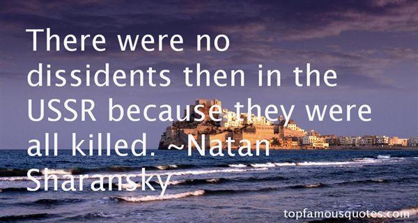 Natan Sharansky Quotes