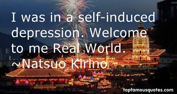 Natsuo Kirino Quotes