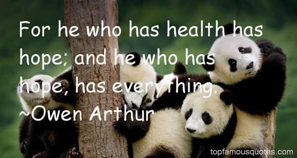 Owen Arthur Quotes
