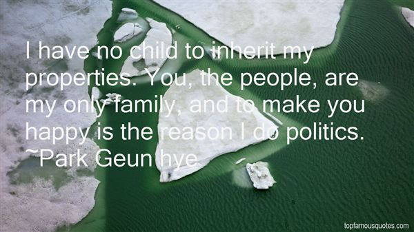 Park Geun Hye Quotes