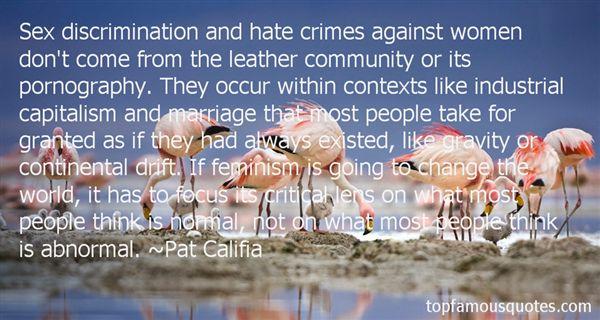 Pat Califia Quotes