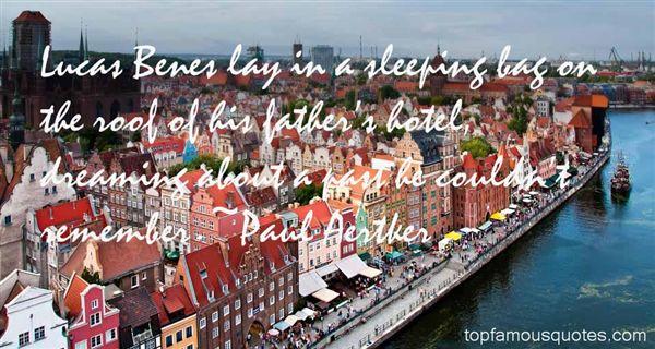 Paul Aertker Quotes