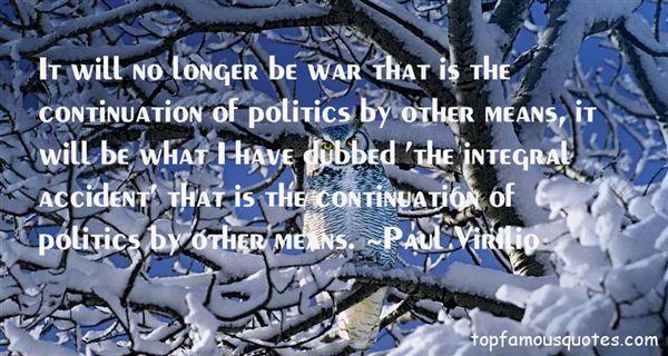 Paul Virilio Quotes