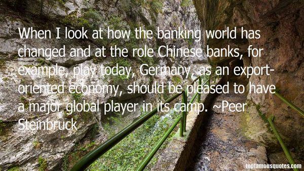 Peer Steinbruck Quotes