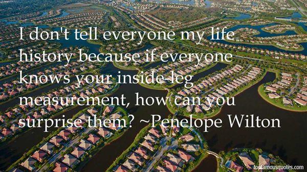 Penelope Wilton Quotes