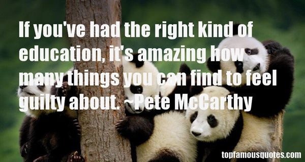 Pete McCarthy Quotes