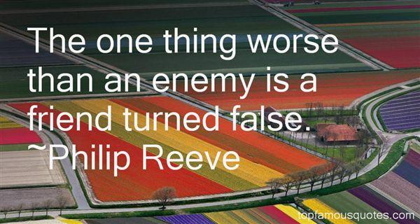 Philip Reeve Quotes