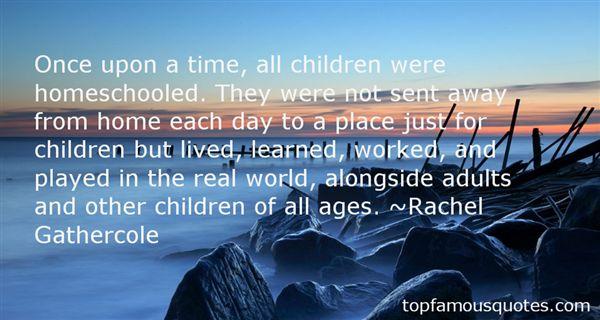 Rachel Gathercole Quotes