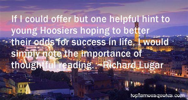 Richard Lugar Quotes