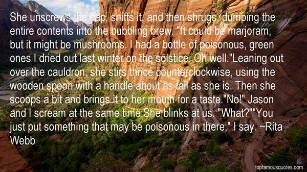Rita Webb Quotes
