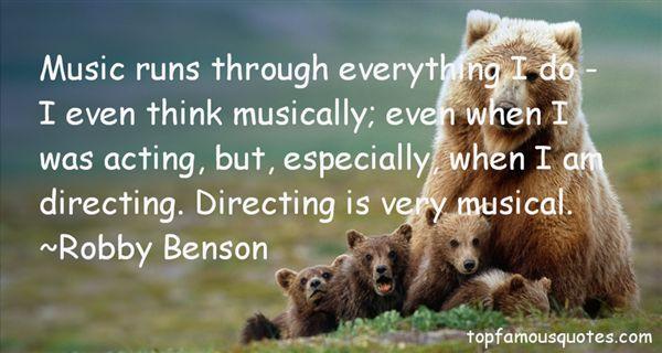 Robby Benson Quotes