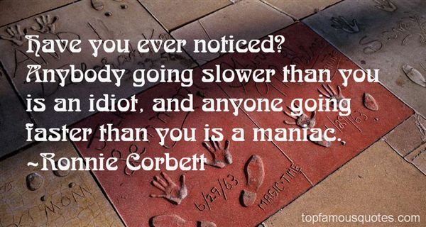 Ronnie Corbett Quotes