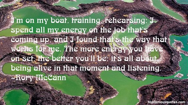 Rory McCann Quotes