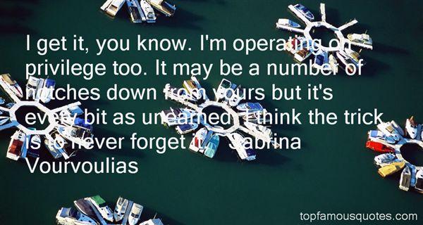 Sabrina Vourvoulias Quotes