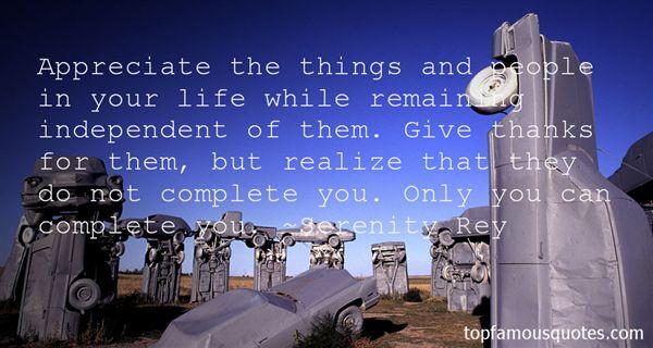 Serenity Rey Quotes