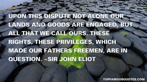 Sir John Eliot Quotes
