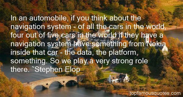 Stephen Elop Quotes