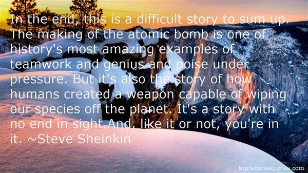 Steve Sheinkin Quotes