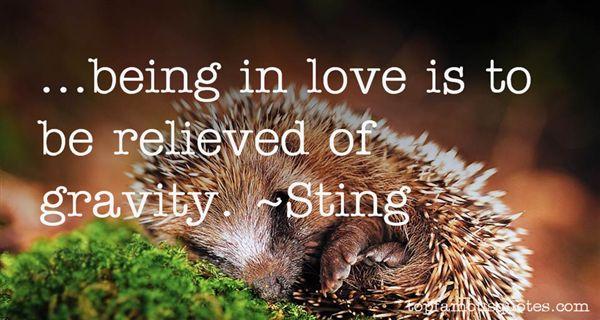 Sting Quotes
