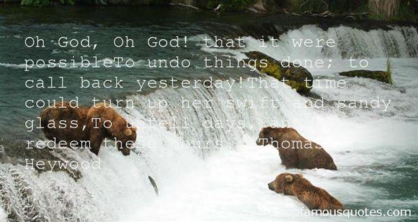 Thomas Heywood Quotes