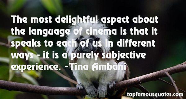 Tina Ambani Quotes