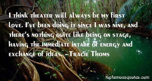 Tracie Thoms Quotes