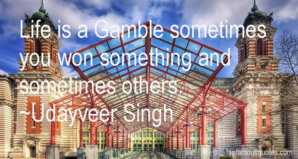 Udayveer Singh Quotes