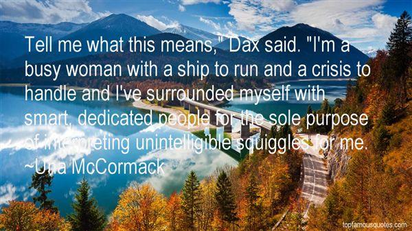 Una McCormack Quotes