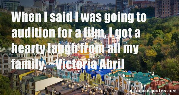 Victoria Abril Quotes