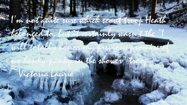 Victoria Laurie Quotes