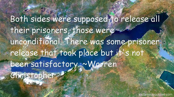 Warren Christopher Quotes